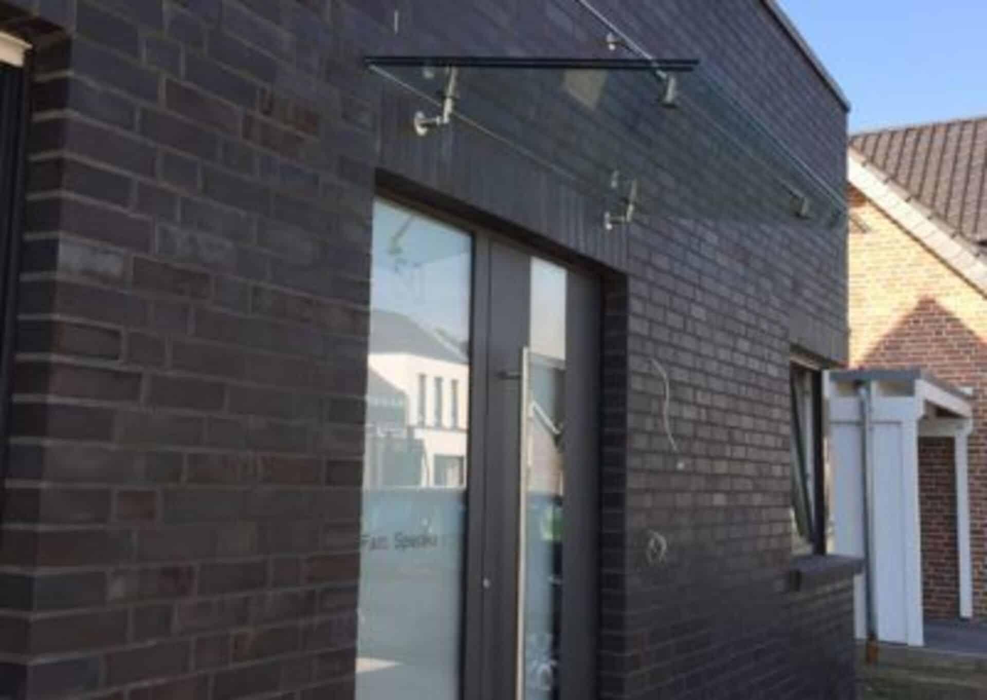 Glas Vordächer