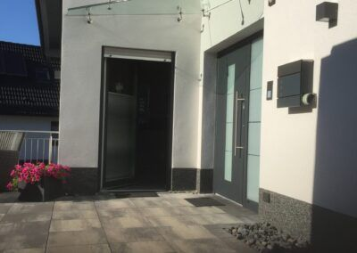 Vordach Ecke